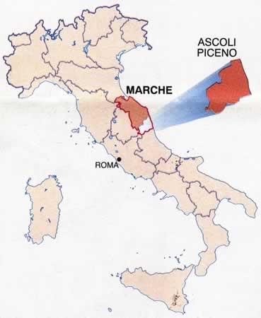 Cartina Geografica Marche Italia.Cartine Geografiche Italia Cartina Con Particolare Regione